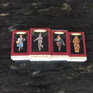 COPY - Lot of 4 Hallmark Keepsake Ornaments